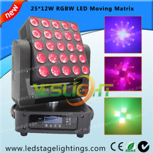 Infinite Moving Head Matrix Lighting 25PCS*12W RGBW 4in1 LEDs pictures & photos