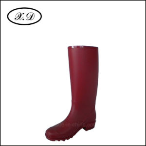 Fashion PVC Rain Boots for Woman pictures & photos