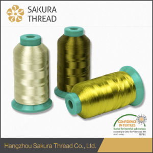 Sakura 100% Rayon/Viscose Embroidery Thread pictures & photos