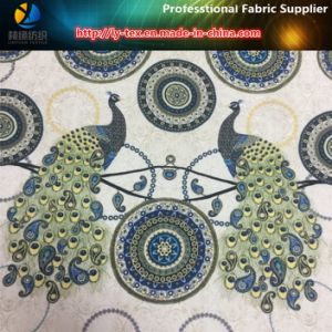 Peacock Digital Printing on Polyester Twill Fabric with Soft Nap for Shirt pictures & photos