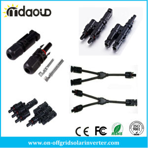 Hot Selling and High Quality Mc4 Compatible Solar Cable Waterproof Mc4 Connector pictures & photos
