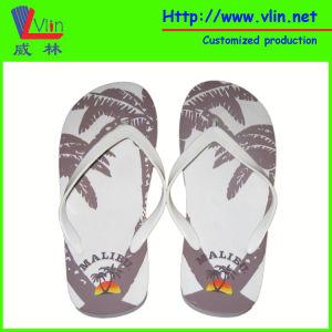 Malibu Simple Flip Flop with Logo Printing