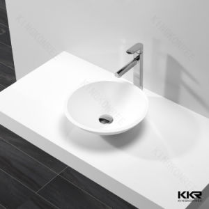 Sanitary Ware Resin Stone Solid Surface Bathroom Washing Basin (B170819) pictures & photos
