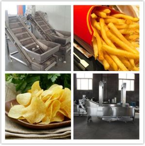 Stainless Steel Fried Potato Chips Making Machine pictures & photos