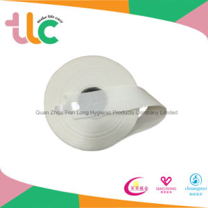 Spunlace Nonwoven Fabric Raw Material for Baby Diaper pictures & photos