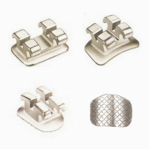 Dental Mini Orthodontic Bondable Edgewise Brackets 0.022 with Hook on 3, 4, 5 pictures & photos