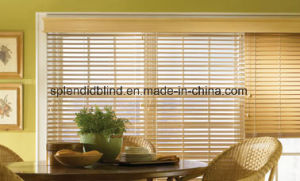 Windows Blinds Ladder Tape Windows Basswood Blinds pictures & photos