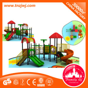 Commercial Kindergarten Plastic Play Slide Children Outdoor Playground pictures & photos