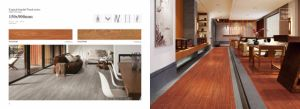 Non Slip Wood Look Polished Porcelain Tile pictures & photos