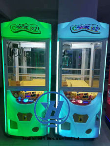 Popular Amusement Park Equipment Coin Pusher Claw Vending Game Machine (ZJ-CGA-4) pictures & photos