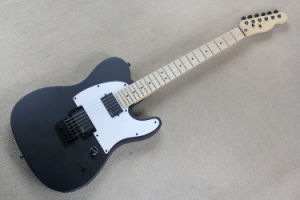 Hanhai Music/Matte Black Tele Electric Guitar with Black Hardware pictures & photos