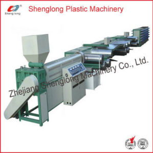 Plastic Tape Drawing Machine PP Extruder (SL -FS) pictures & photos
