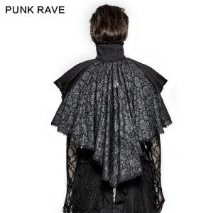 Ly-061 Punk Rave Roman The Pope Fashion Velvet Cloak for Christmas pictures & photos