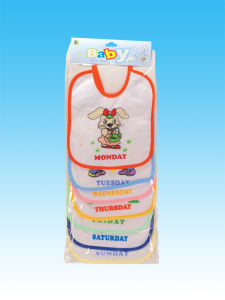 New Product Boutique Cute Custom Printing Cotton Baby Bandana Bibs pictures & photos