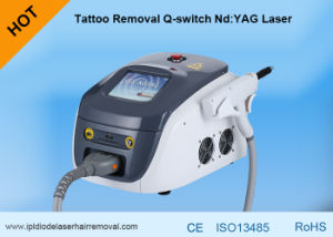 Painless Gentle YAG Laser 1064 Nm / 532nm Pigments Tattoo Removal Laser Machine pictures & photos