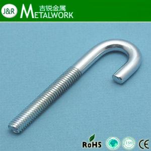 Carbon Steel Galvanized Zinc Plated J Foundation Bolt (grade 4.8 grade 8.8) pictures & photos