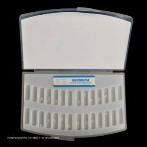 Orthodontic Mbt Monocrystalline Sapphire Ceramic Bracket Ce pictures & photos