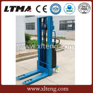 Ltma Manual Stacker 2000kg Semi Electric Stacker pictures & photos