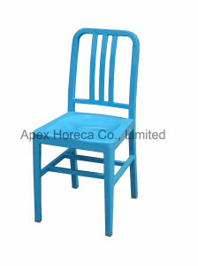 Navy Chair Restaurant Dining Chair Steel Iron Chair pictures & photos
