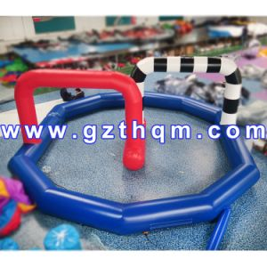 Commercial Grade Inflatable Soap Soccer Field/Attractive Large Inflatable Football Field pictures & photos