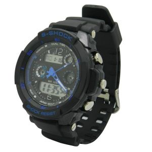 Outdoor Sports Watch 50m Diving Depth Waterproof Watch pictures & photos