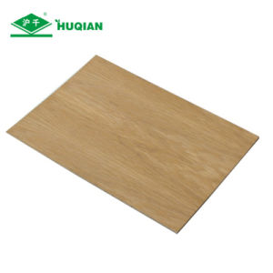 High Density E2 Glue 9mm Walnut Melamine Coated MDF Board for Cabinet pictures & photos