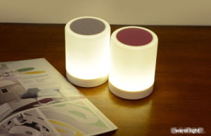 2017 New Touch Control Smart Music Lamp Bluetooth Speaker pictures & photos