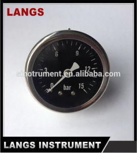 016 Auto Parts Brass Internal Liquid Filled Pressure Gauge pictures & photos