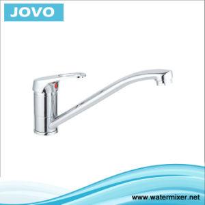 Sanitary Faucet Single Handle Kitchen Mixer Jv 73606 pictures & photos