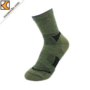 Women′s Merino Wool Hiking Socks (162010SK) pictures & photos