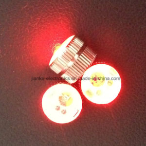 Promotion Gift LED Blinking Magnet Button (3161) pictures & photos