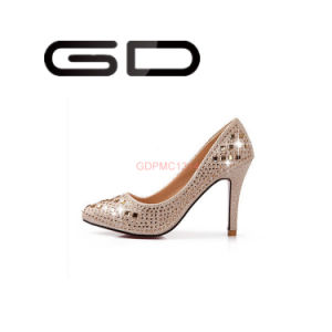 Diamond Shoes with High Heel and Rhinestone Shoes pictures & photos
