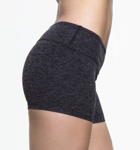 (Factory) Bodybuilding Gym Fitness Sports Women Yoga Rash Shorts pictures & photos