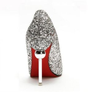 New Style Glitter Women Shoes High Heels Pumps pictures & photos