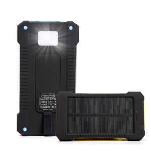 10000mAh Portable Solar Cell Power Pover Bank for iPhone pictures & photos