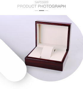 Eco Durable Luxury Biomass High-Glossy Bamboo-Plastic Watch Gift Box pictures & photos