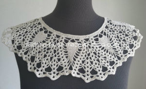 OEM Custom Hand Crochet Necklace Bib Lace Collar Garment Accessories pictures & photos
