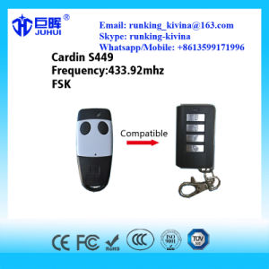 Compatible Cardin Brand Rolling Code Remote Control 433.92MHz pictures & photos