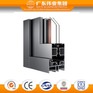 Australia Style 80 Series Double Glazing Aluminum/Aluminium/Aluminio Bi-Folding Sliding Door pictures & photos