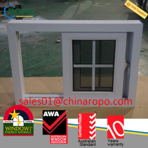 UPVC Laminated High Impact Sliding Window Price pictures & photos
