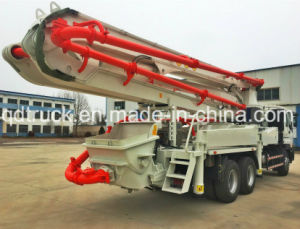 37m ISUZU truck mounted concrete pump, concrete pump truck pictures & photos