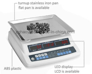 High Accuracy Electronic Counting Scale with LED Display pictures & photos