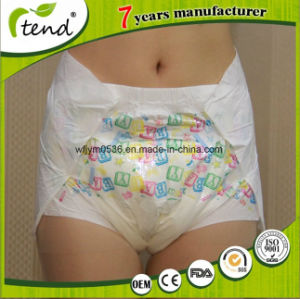 Sourcing High Quality Ultrathick Super Absorbency Adult Abdl Diapers Supplier From China pictures & photos