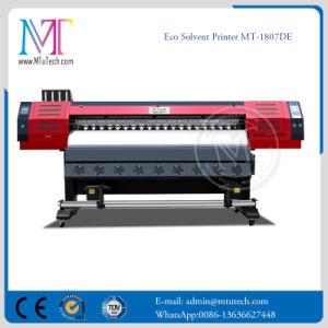Double Dx7 Printerheads 1.8m Wide Large Format Piezoelectric Eco Solvent Printer pictures & photos