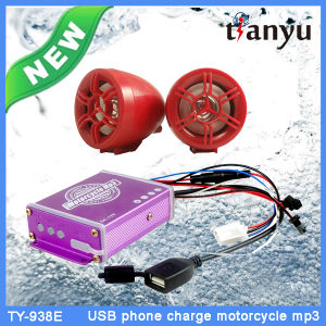 Plastic Motorcycle MP3 Audio Anti-Theft Alarm System pictures & photos