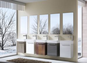 Single Sink Bathroom Cabinet Mix Many Together From China Factory Produce pictures & photos
