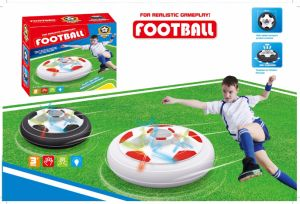 Air Power Soccer Disk LED Electric Suspension Pneumatic Football Toy pictures & photos