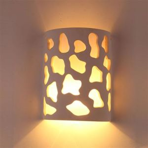 Sixu Plaster Wall Lamp Hr-1028 pictures & photos