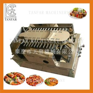 Automatic Electric Rolling BBQ Yakitori Machine pictures & photos