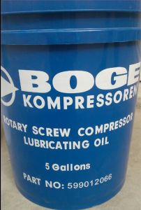 Boge Kompressoren 5gallons Rotary Screw Air Compressor Lubricant Oil pictures & photos
